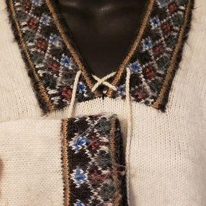 Angora sweater swedish size S/M/L